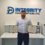 Certificates of Appreciation for new Acoustic Emission standard ASTM E3100-17