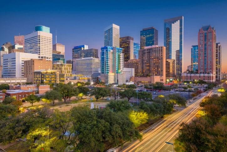 Acoustic emission in Houston